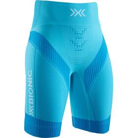 X-Bionic Effektor G2 Spodenki do biegania Kobiety, effektor tuquoise/arctic white